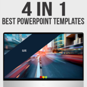 4 in 1 powerpoint bundle 10762022 icon