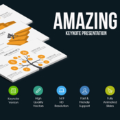 Amazing keynote template by creative slides 896651 icon