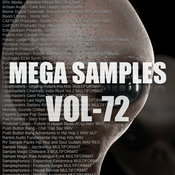 Mega samples vol 72 logo icon