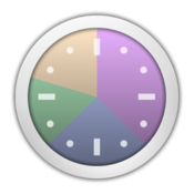 Time sink track time spent in each window and app icon