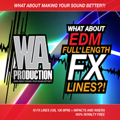 Wa production what about edm full length fx lines icon