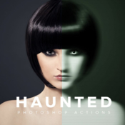 Haunted photoshop action 721903 icon