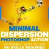 Minimal dispersion photoshop action 19176826 icon