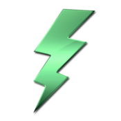 Battery charging alert icon