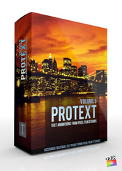 Pixel film studios - protext: volume 5 for fcpx icon