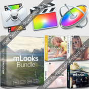 Apple final cut pro x10 motion5 compressor4 with mlooks bundle icon