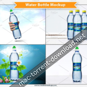 Creative market water bottle mockup 1279703 icon
