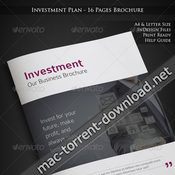Investment plan 16 pages business brochure 6603457 plantillas indd icon