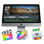 Apple final cut pro x, motion and compressor icon