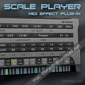 Rf music scale player icon