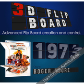 3d flip board plugin for adobe after effects icon