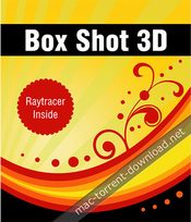 Box shot 3d icon