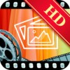Hd slideshow maker photos videos music mixer icon
