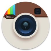 Uploader for instagram icon