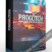 Pixel film studios proglitch professional glitch effects for fcpx icon