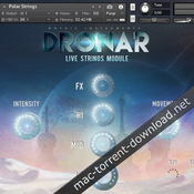 Gothic instruments dronar live strings kontakt icon
