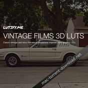 Lutify me vintage films 3d luts icon