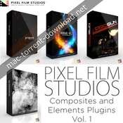 Pixel film studios composites and elements plugins vol1 for fcpx icon