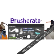 Brusherator plug in for adobe photoshop icon