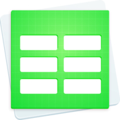 Design templates for numbers icon