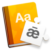 Dictionaries translation and spelling dictionaries icon