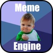 Meme engine create your own memes icon