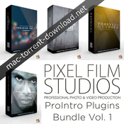 Pixel film studios prointro plugins bundle vol1 icon