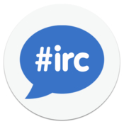 New irc live chat client icon