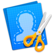 Cut out shapes erase elements 82 icon