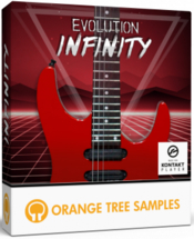 Orange tree samples evolution infinity icon