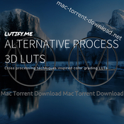 Lutify me alternative process 3d luts icon