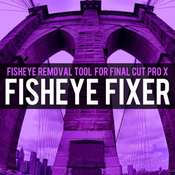 Brooklyn effects fisheye removal tool for final cut pro x icon