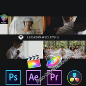 Lapardin wedluts romantic wedding luts icon