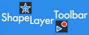 Shape layer toolbar ae icon