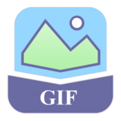 Pictures to gif imacbits icon