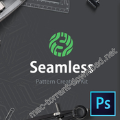 Seamless pattern creation kit panel icon