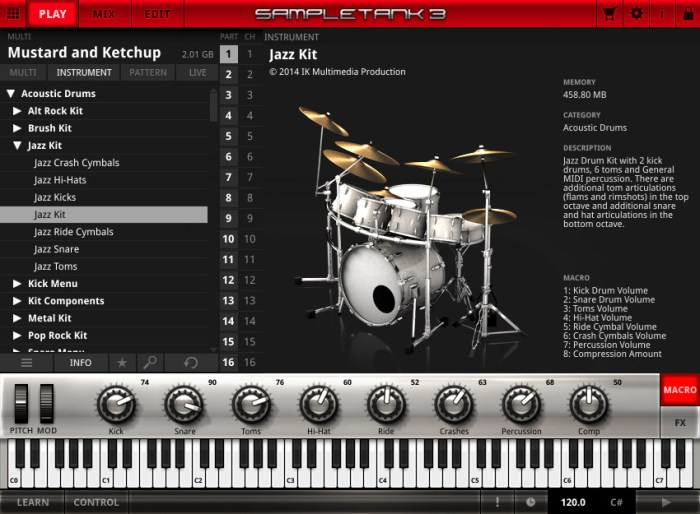 IK Multimedia SampleTank 373 WIN MAC Screenshot 04