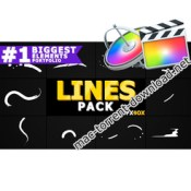 Flash fx shape lines final cut pro x 23505994 icon