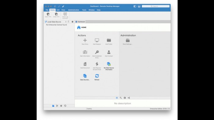Remote Desktop Manager Enterprise 2019170 Screenshot 02 ikzeg1n