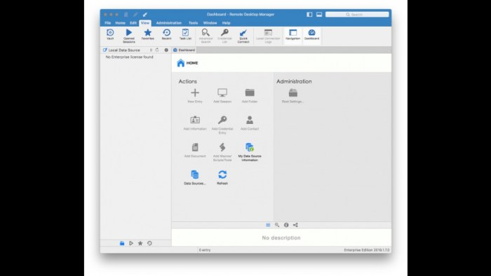 Remote Desktop Manager Enterprise 2019170 Screenshot 04 xnj6bn