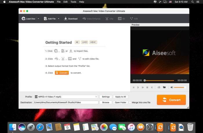 Aiseesoft Mac Video Converter Ultimate 9232 Screenshot 01 1370ckn