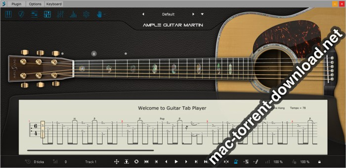 Ample Sound Ample Guitar M III 310 Screenshot 02 1373yrn