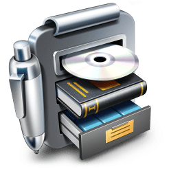Librarian pro complete personal inventory system app icon