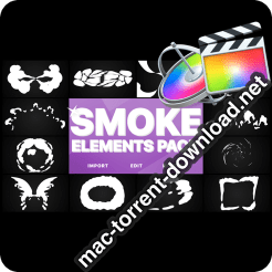 Smoke Elements Pack FCPX 24297220 icon