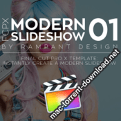 Rampant Design Tools FCPX Modern Slideshow 01 icon