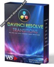 VHS DaVinci Resolve Transitions box icon