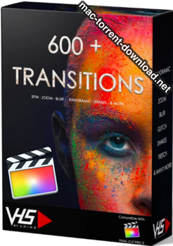 VHS Studio 600 Final Cut Transitions Pack box