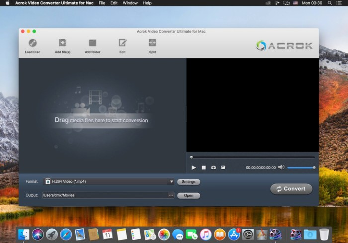 Acrok Video Converter Ultimate 70156 Screenshot 01 587pltn
