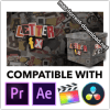 CinePacks Letter FX for Final Cut Pro, After Effects, Premiere Pro