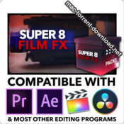 CinePacks Super 8 Film FX icon